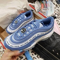 NIKE AIR MAX 97 Air cushion jogging shoes-1