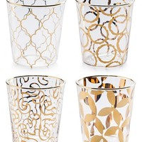 Rosanna 'Luxe Moderne' Double Old Fashioned Glasses - White (Set of 4)
