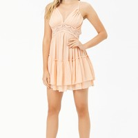 Boho Me Crochet-Trim Dress