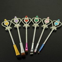 Crystal Heart Brush Set