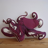 Octopus Pillow   BRIKA - A Well-Crafted Life