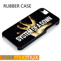 System Of A Down iPhone 4/4S, 5/5S, 5C, 6/6 Plus Series Rubber Case