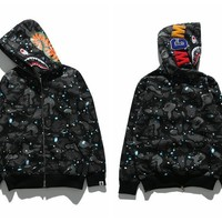 Bape Shark Head Luminous Series Sweater Star M ~ 2xl | Best Deal Online