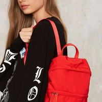 Nylon and On Mini Backpack - Red