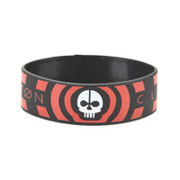 Twenty One Pilots Skeleton Rubber Bracelet