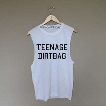 Teenage Dirtbag - White