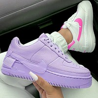 Air Force 1 Nike AF1 Flat Shoes Sports Sneakers Pure purple