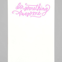 Awesome Notepad - Urban Outfitters