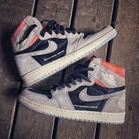 Air Jordan 1 OG AJ1 high-top casual sports basketball shoes