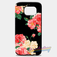 Large Carnations Floral Samsung Galaxy S8 Plus Case Case | casefantasy