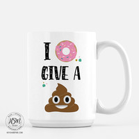 I don't give a - Emoji - Mug