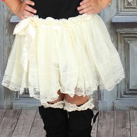 Snowflake Tulle Skirt - Ryleigh Rue Clothing by MVB