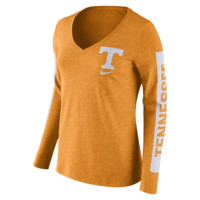 Nike College Tri Modern Sport Mid V (Tennessee) Women's T-Shirt