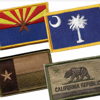 State Flag Patch (Velcro back)