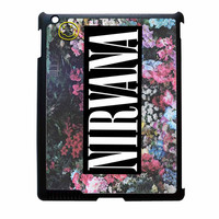 Nirvana Logo Floral Flower Design iPad 4 Case