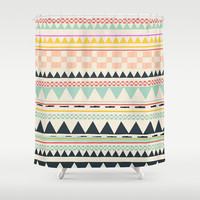coloring book Shower Curtain by SpinL