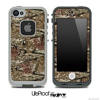 Vibrant Brown Camo Skin for the iPhone 5 or 4/4s LifeProof Case