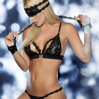 Racerback Bra And Panty Set