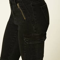 Zippered Skinny Jeans