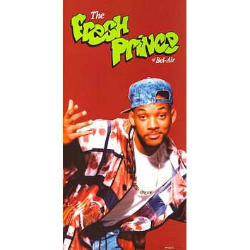 The Fresh Prince of Bel-Air Will Smith Poster 12x24