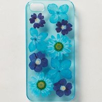 Pressed Hydrangea iPhone 5 Case by Anthropologie Sky One Size Tech Essentials