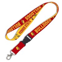 WinCraft Ferris State Bulldogs Lanyard With Detachable Buckle