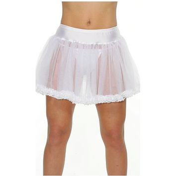 Petticoat With Lace Trim