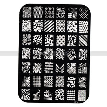 Beauty Accessories Nail Care Stamp Manicure Nail Tools Images Plates Polish (Size: One Size, Color: Multicolor) = 4849859972