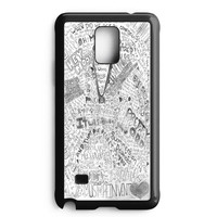 Panic At The Disco Flowers Samsung Galaxy Note 4 Case