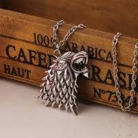 Direwolf Necklace