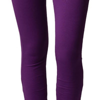Purple Brazilian Moleton Jeggings