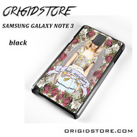 Marina And The Diamonds I Hate Everything For Samsung Galaxy Note 3 Case YG
