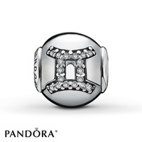 PANDORA ESSENCE Charm Clear Cubic Zirconia Sterling Silver