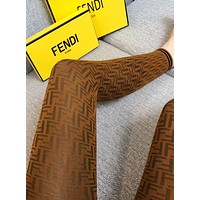 Fendi 2019 new women's retro knit tights