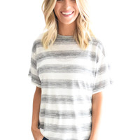 Gold Coast Stripe Top