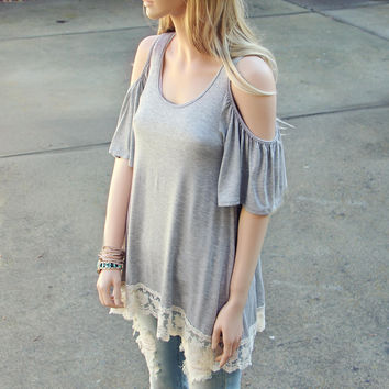 The Campus Lace Tee