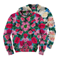 Reversible Magic Roses Sweatshirt