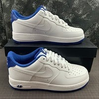 Morechoice Tuhz Nike Air Force 1 Low Navy Sneakers Casual Skaet Shoes Cd0884-102