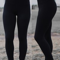 Ultimate Black High Waist Leggings