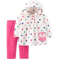 Child of Mine by Carter's Newborn Baby Girl Pant Set-2 Pieces - Walmart.com