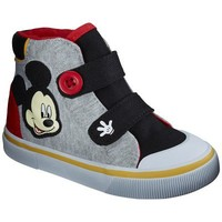 Toddler Boy's License Mickey Mouse Hi-Top Shoe - Gray