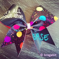 It's all about that base cheer bow