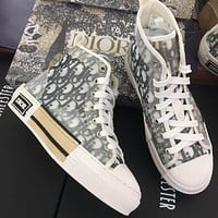 DIOR HIGH -TOP SNEAKER