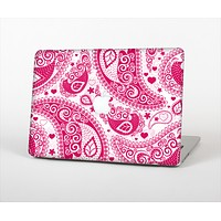 "The Pink & White Paisley Pattern V421 Skin Set for the Apple MacBook Pro 13"" with Retina Display"