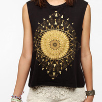 Urban Outfitters - Truly Madly Deeply Golden Eye Muscle Tee