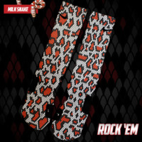 Milk Snake Custom Nike Elite Socks | Rock 'Em Apparel
