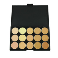 Toopoot 2017 Professional 15 Colors Make up Concealer Camouflage Face High light Foundation Cream Makeup Palette Top Quality