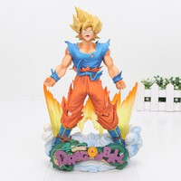 Dragon Ball Z Figure Super Master Stars Diorama Son Goku Battle Ver. Action figure DBZ PVC Model Toys