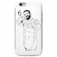 Drake 6 God Shooter Apple IPhone 4 5 5s 6 6s Plus Galaxy Case // Jumpman Hotline Bling Drizzy Woes Views what a time Future