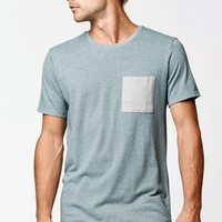 On The Byas Toby Pocket T-Shirt - Mens Shirt - Gray